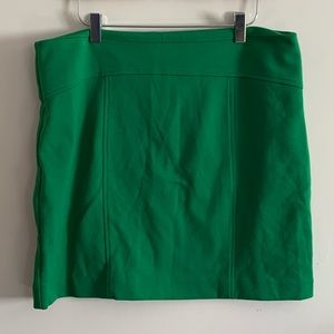 Michael Kors Green Fitted Pencil Skirt Above Knee